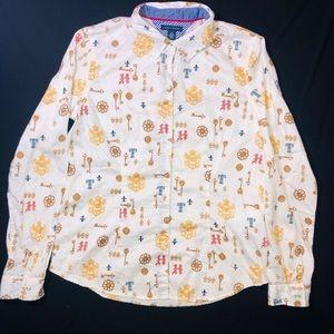 Womens Tommy Hilfiger Button Up Shirt Medium